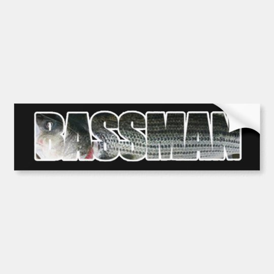 Bassman Bumper Sticker DARK