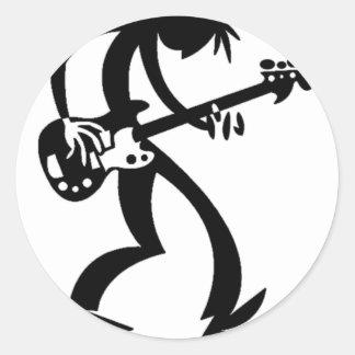 bassman classic round sticker