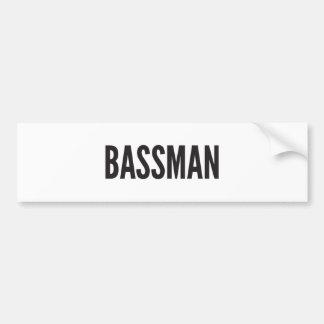Bassman Sticker Bumper Sticker