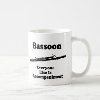 Basson Gift Classic White Coffee Mug