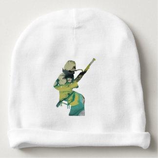 bassoon art baby beanie