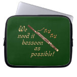Bassoon as Possible Laptop Sleeves