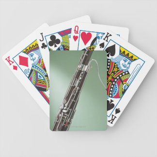Bassoon Bicycle Playing Cards