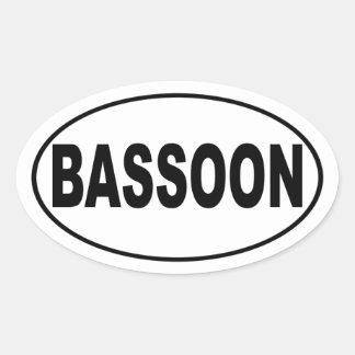 Bassoon Bumper Sticker