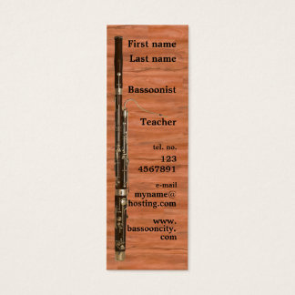 Bassoon Business Card