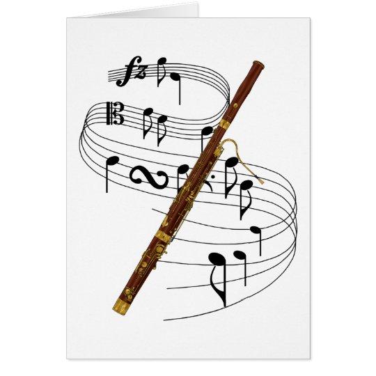 Bassoon Card