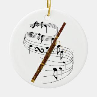 Bassoon Ceramic Ornament