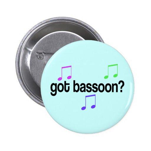 Bassoon conseguido pins