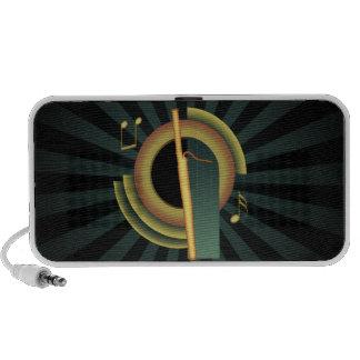 Bassoon Deco Notebook Speakers