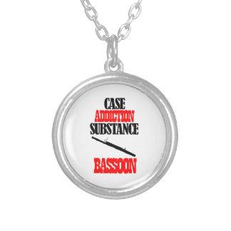 BASSOON designs Round Pendant Necklace