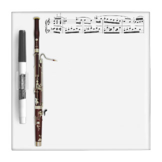 Bassoon Dry Erase Board