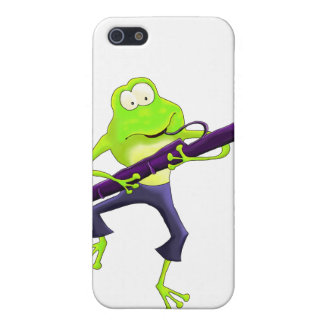 Bassoon Frog iPhone SE/5/5s Cover