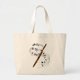 Bassoon Large Tote Bag