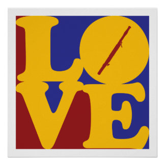 Bassoon Love Poster