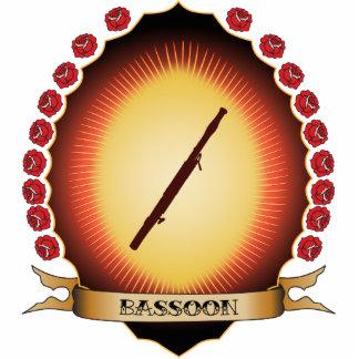 Bassoon Mandorla Adorno Fotoescultura