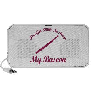 bassoon musical designs laptop speakers