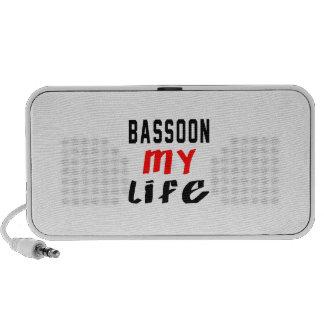 Bassoon my life portable speaker