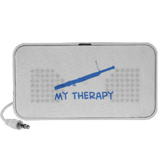 Bassoon My therapy Travel Speaker