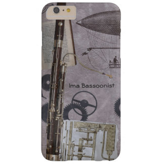 Bassoon o carnaval posterior de Steampunk Funda Barely There iPhone 6 Plus