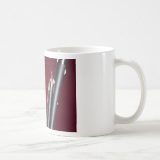 Bassoon on Red Background Coffee Mugs