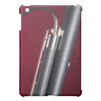 Bassoon on Red Background iPad Mini Covers