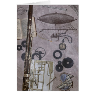 Bassoon or Later Steampunk Carnival Card