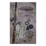 Bassoon or Later Steampunk Carnival Posters