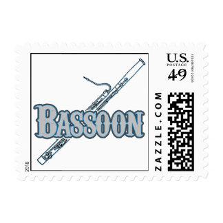 Bassoon Postage