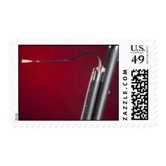 Bassoon postage stamp