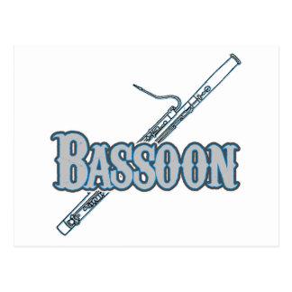 Bassoon Postcard