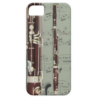 Bassoon & sheet music phone case. Pick color iPhone SE/5/5s Case