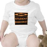 Bassoonist del estudiante trajes de bebé