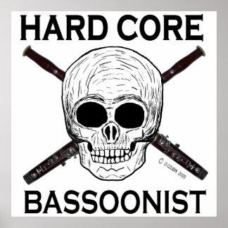 Bassoonist del núcleo duro impresiones