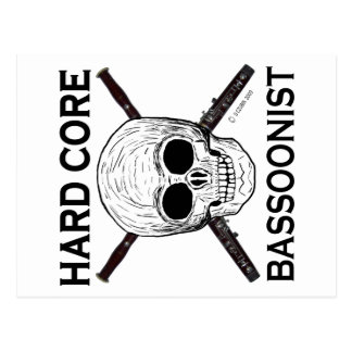 ¡Bassoonist del núcleo duro! Postales
