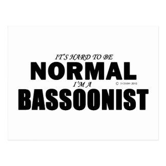 Bassoonist normal
