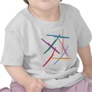 Bassoons coloridos camisetas