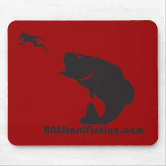 BASStard Fishing Mousepad