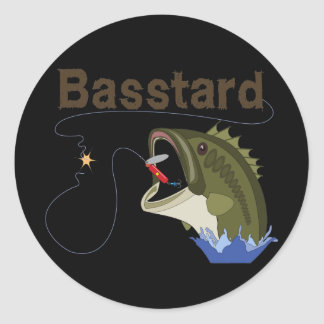 Basstard Stickers