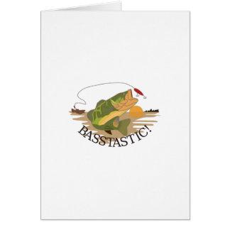 Basstastic! Card