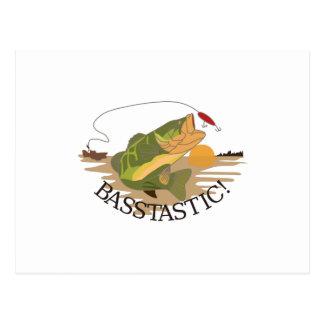 Basstastic! Postcard