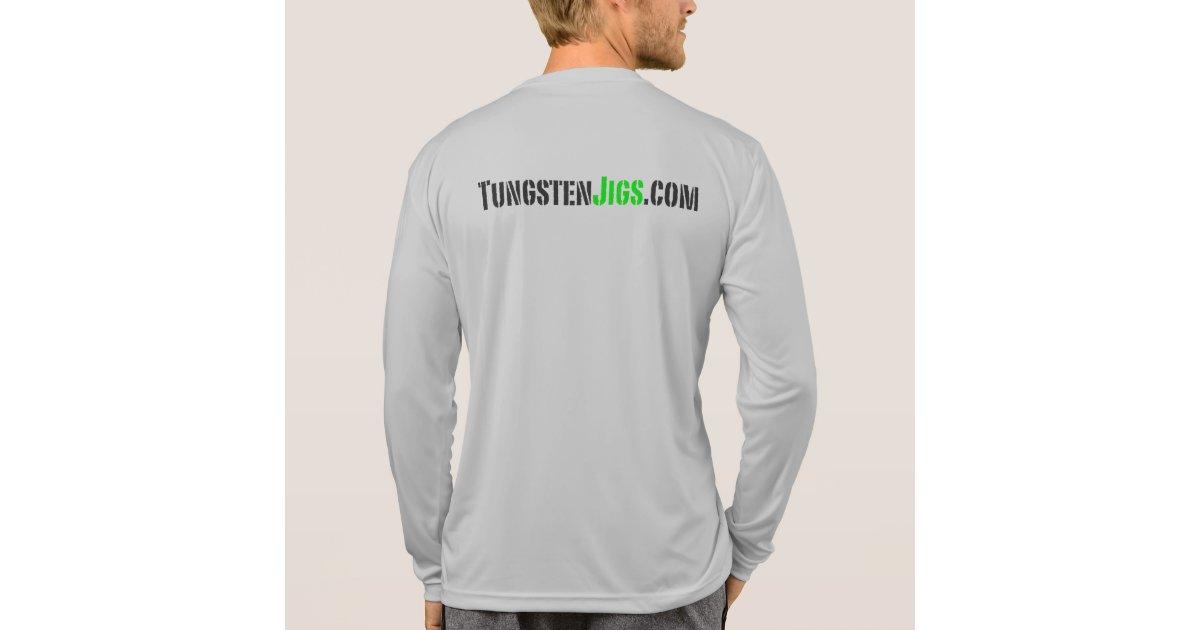 Basstek Active Long Sleeve T Shirt Zazzle
