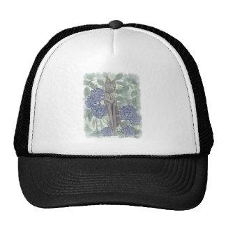 Bast Amidst Hydrangea Flowers Trucker Hat
