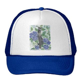 Bast Amidst Hydrangeas Trucker Hat