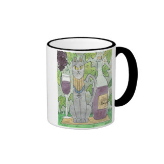 Bast and Beaujolais Mug