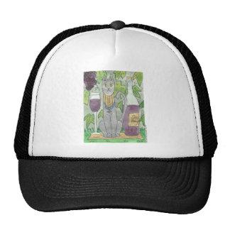 Bast and Beaujolais Trucker Hat