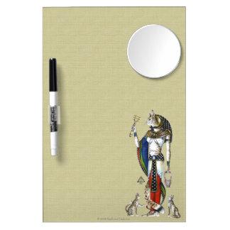 Bast Dry Erase Board W/Mirror