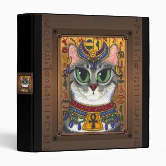Bast Goddess Egyptian Bastet Cat Art Avery Binder