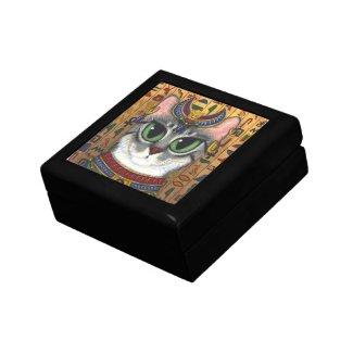 Bast Goddess Egyptian Bastet Cat Art Gift Box
