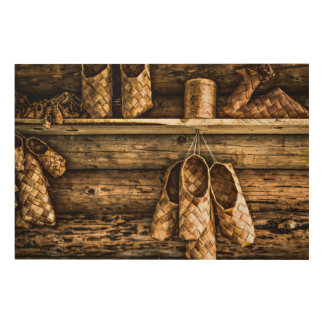 Bast Shoes For Sale Wood Wall Art