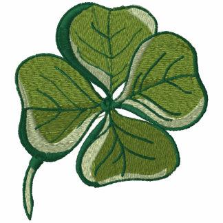 Bastante afortunado irlandés encapuchada bordada